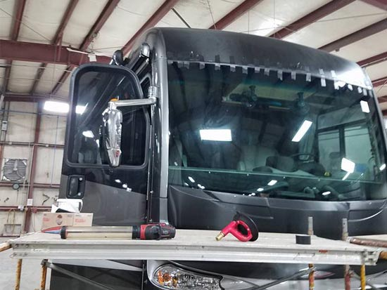Motor home windshields repaired in Indiana